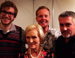 Olly Smith Mary Berry Great British Bake Off