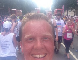 Olly Smith running British 10k
