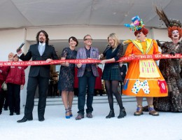 Olly Smith opens the Ideal Home Show at Christmas