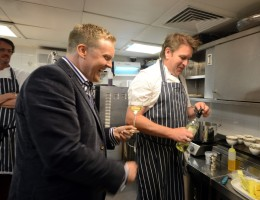 Olly Smith & James Martin