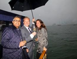 Olly Smith & Vivek Singh P&O Cruises