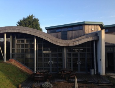 The spanking new Wine Research Centre at Plumpton