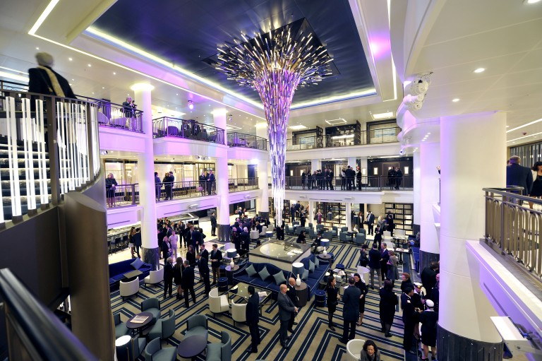 Olly Unveils A New Glass House On Board P Amp O Cruises