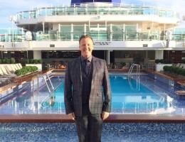 Olly Smith Britannia P&O Cruises