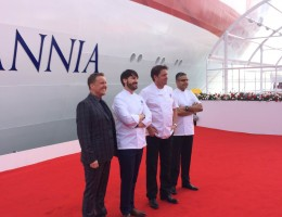 Olly Smith P&O Cruises Britannia