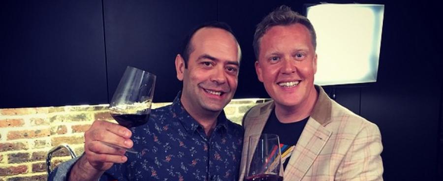 Olly and José April 2015 Rioja