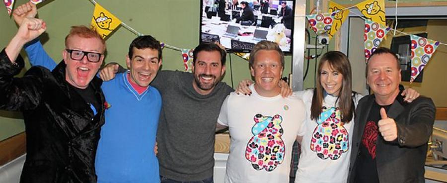 BBC Radio 2 Chris Evans Breakfast Show CiN