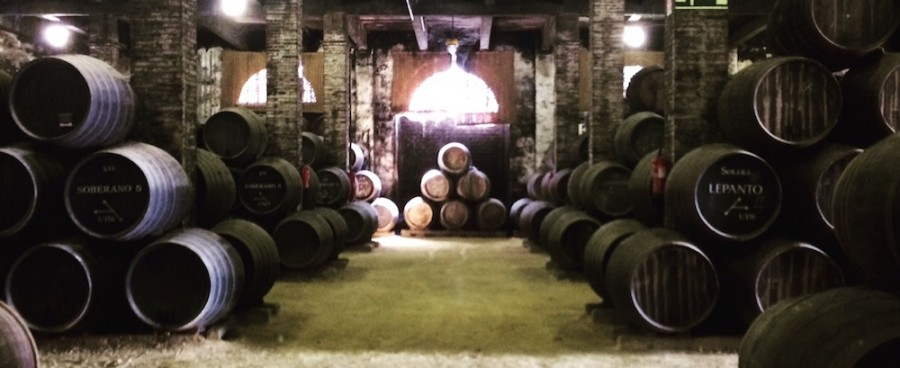 Sherry casks