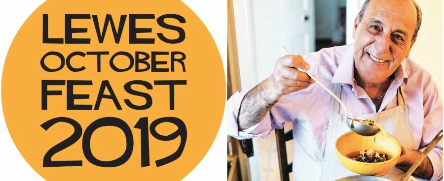 Join Olly Smith in conversation with Gennaro Contaldo, Lewes Octoberfeast - 19th October