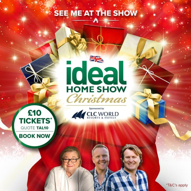 Ideal Home Show Christmas 2019 Olly Smith