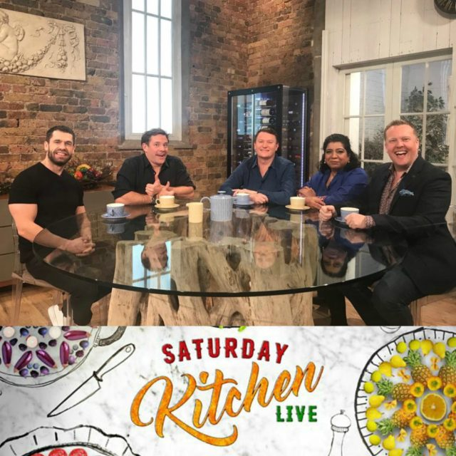 Olly was on BBC Saturday Kitchen - 11th Jan 2020