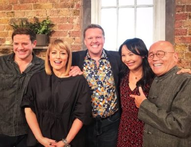 Olly Smith appeared on BBC Saturday Kitchen, 25th January 2020